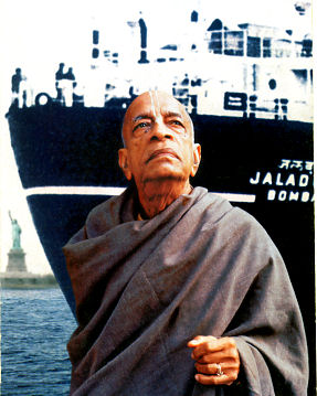 Srila Prabhupada and the stam ship Jaladuta