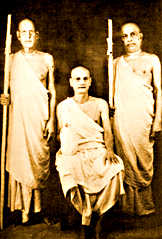 Prabhupada taking Sannyasa